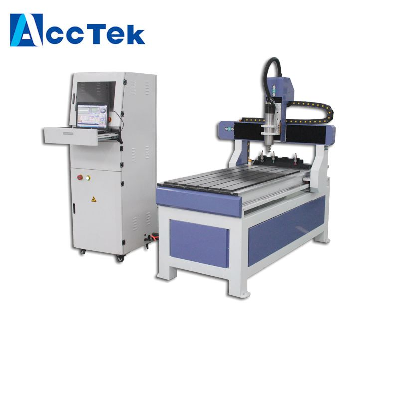 Wooden Desktop Mini Atc CNC Router Machine 6012 For America Automatic Change Tool CNC Router Cutting Wood