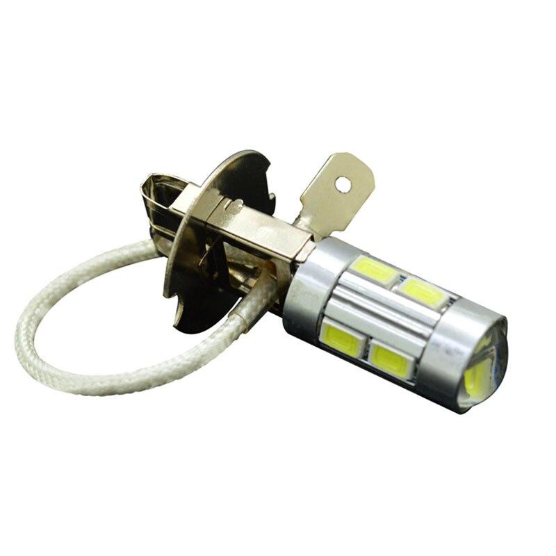 1pcs H3 10 Led Car Light Fog Led High Power Lamp 5630 Smd Auto Car Led ...