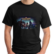 The new Guardians Of The Galaxy Short Sleeve Men's Black T-Shirt Size S-2XL