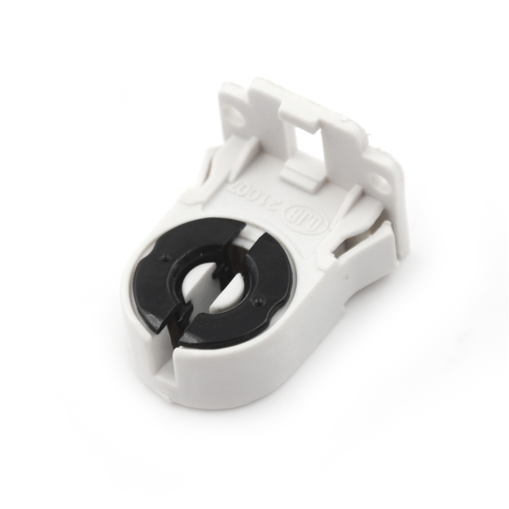 Plastic Holder suitable forT8 G13 LED bracket <font><b>lamp</b></font> <font><b>T8</b></font> Fluorescent Light <font><b>Socket</b></font> <font><b>Lamp</b></font> Base AC100-250V image
