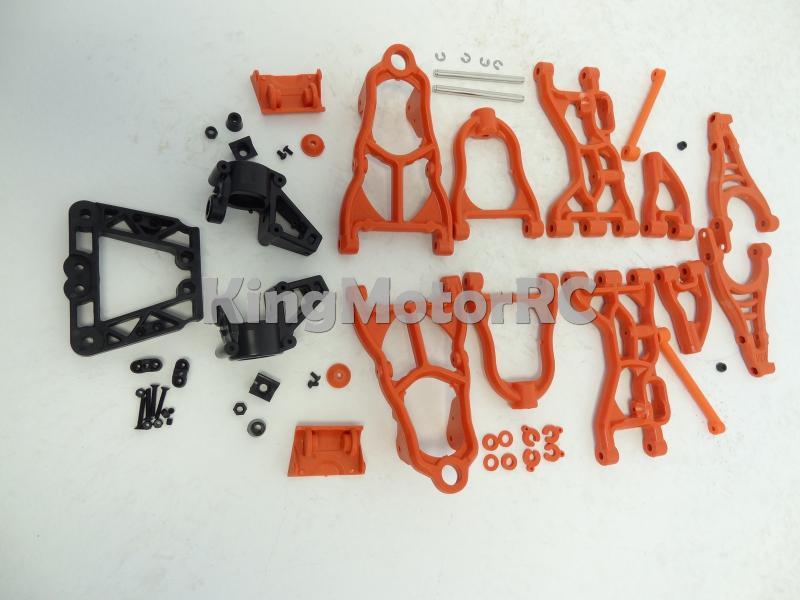 König Motor Aufgerüstet Nylon Suspension Arm Kit Passt HPI Baja 5B 5 T Rovan (Orange)-in Teile & Zubehör aus Spielzeug und Hobbys bei  Gruppe 1