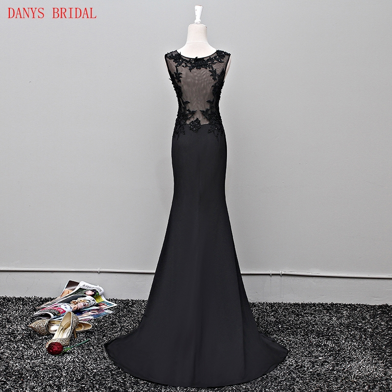 Black Lace Mermaid Mother of the Bride Dresses Gowns for Weddings ...