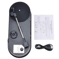 Ezcap610P USB Mini Record Player Record Player Vinyl To MP3 Converter Stereo CD Player