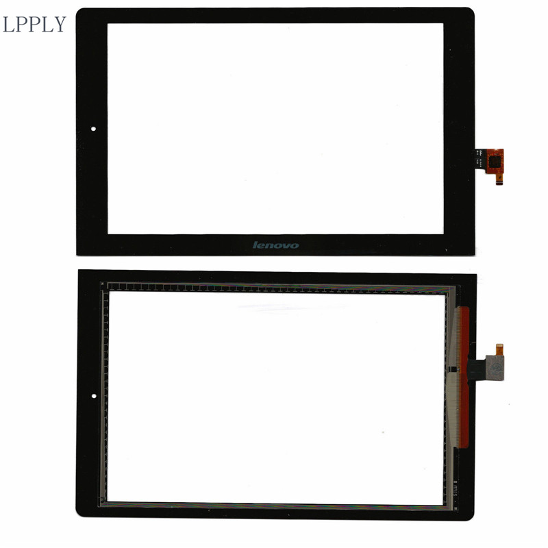 LPPLY Black New For Lenovo Yoga 10 B8080 B8080-F B8080-H Touch Screen Digitizer Sensor Replacement Parts new 10 1 inch case for lenovo yoga 10 b8080 b8080 f b8080 h full lcd display touch screen panel digitizer assembly with frame