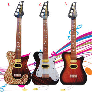 Plastic Pop 4 Strings Guitar Simulation Ukulele Children Baby Educational Wisdom Development Gift Kids Musical Instrument Toy