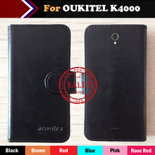 OUKITEL K4000 Case Factory Price 6 Colors Fashion Slip Leather Exclusive Case For OUKITEL K4000 Protective Phone Cover+Tracking kk 325 фигурка кот палтус шамот