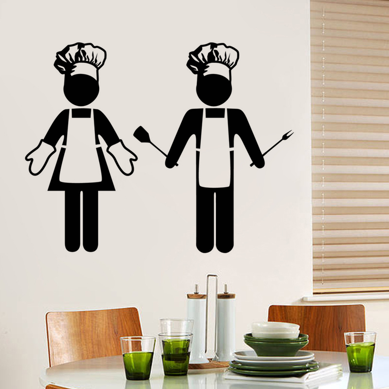 High Kitchen Restaurant Bar Art Wallpaper Home Decoration DIY Wall Sticker Vinyl Decal JG1043