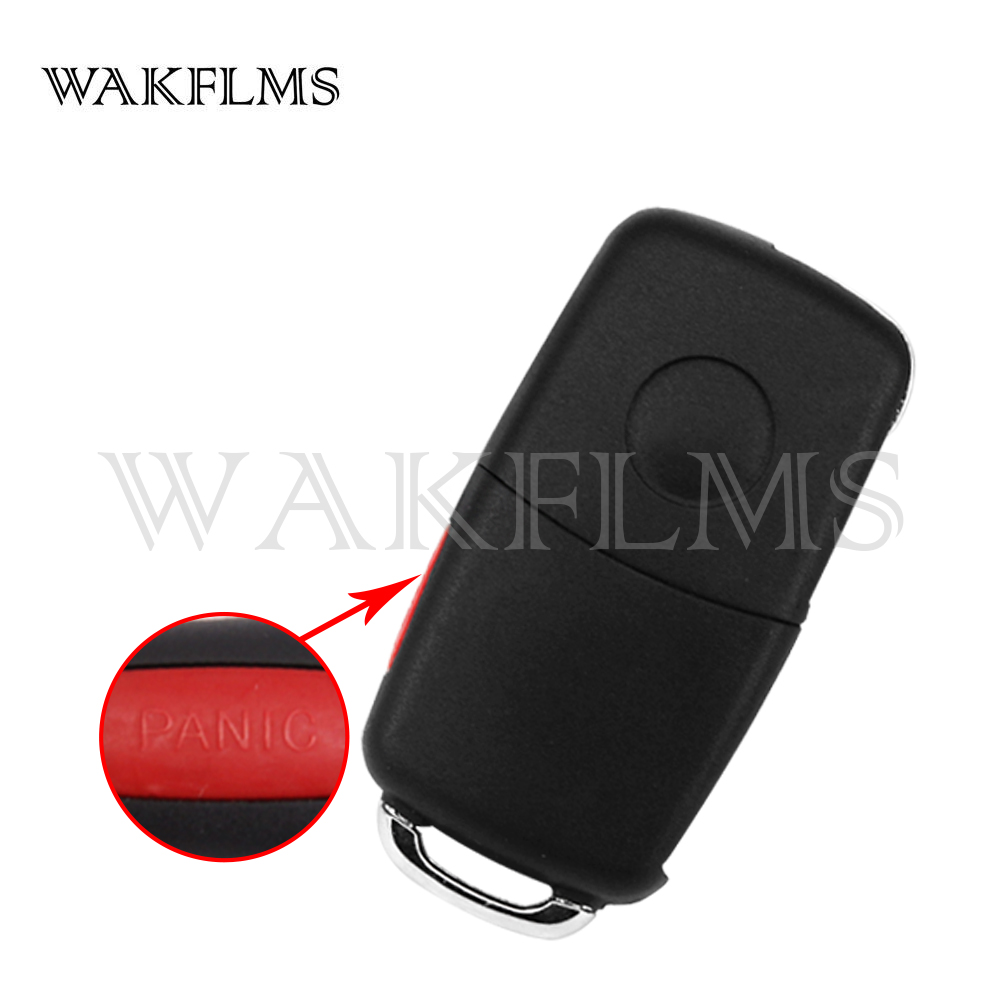Image 2 - 3btn Brand High quality 4 button Remote Key fob 315MHz 433mhz For VW for Volkswagen Phaeton Touareg 2002 2010 with PCF7946 CHIP-in Car Key from Automobiles & Motorcycles