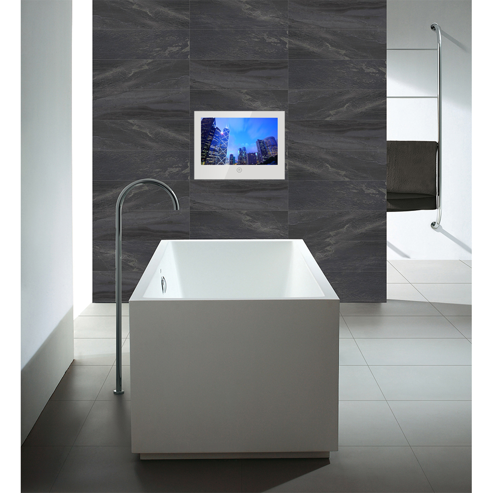 Souria 10 6 inch Mirror Glass USB TV Bathroom IP66 Waterproof LED Television Luxury Small Screen Souria 10.6 inch Mirror Glass USB TV Bathroom IP66 Waterproof LED Television Luxury Small Screen Hotel TV