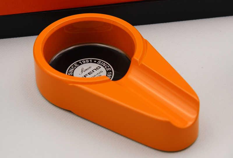 COHIBA Красный/черный/оранжевый цвет набор Сигарет Включает пепельницу и сигару резак и зажигалку, переносной дорожный Подарочный кейс для сигар