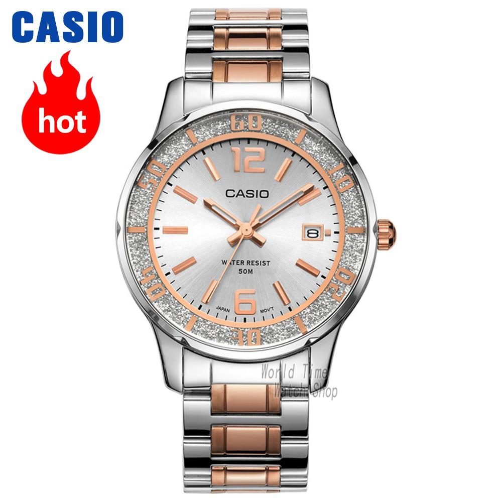 Casio watch Fashion Casual Quartz Needle Steel Watch LTP-1359RG-7A LTP-1359SG-7A часы casio ltp e118g 5a