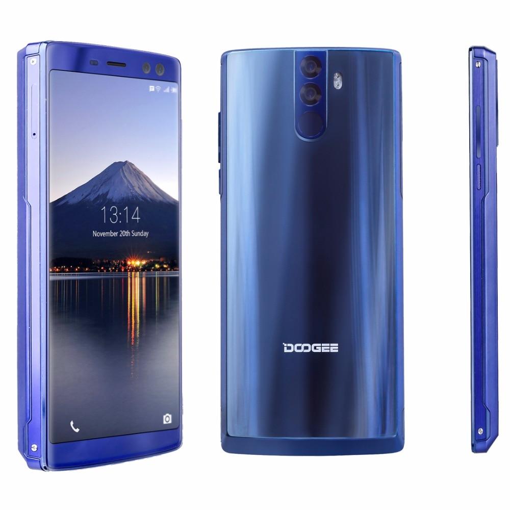 DOOGEE BL12000 Pro 6.0 inch 18:9 4G Smartphone MTK6763T Octa Core Andorid 7.1 6GB RAM 128GB ROM Quad Cameras 16MP+13MP 12000mAh
