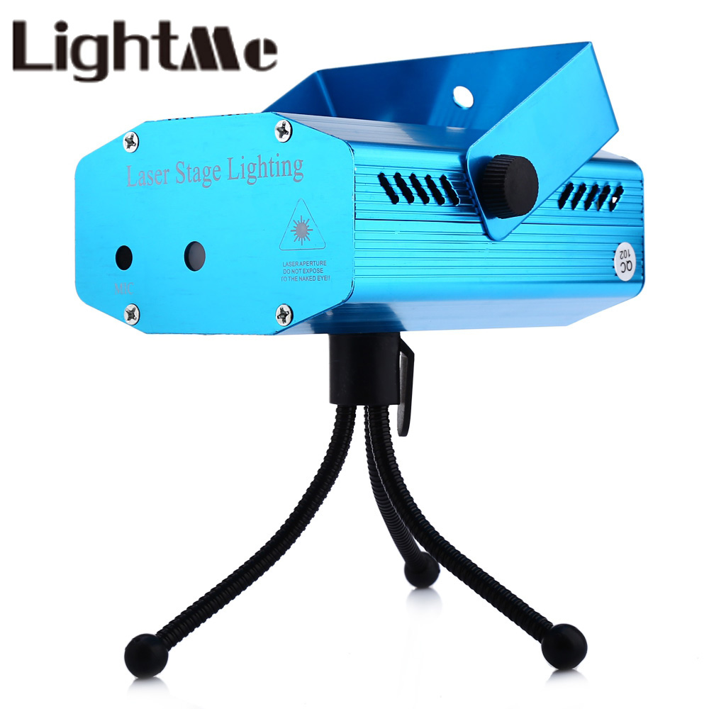 Premium Voice Automatic Control LED Laser Pointer Disco Stage Light Party Pattern Lighting Projector Show Laser Projector Lights rg mini 3 lens 24 patterns led laser projector stage lighting effect 3w blue for dj disco party club laser