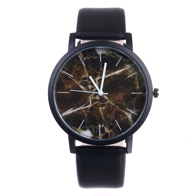 New Original  Brand Marble Style Watches Men Women Sport Casual Quartz Watch High Quality Leather WristWatch Hot Sale Relogio