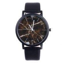 New Original  brand Marble Style Watches Men Women Sport Casual Quartz Watch High quality Leather WristWatch Hot Sale Relogio цена