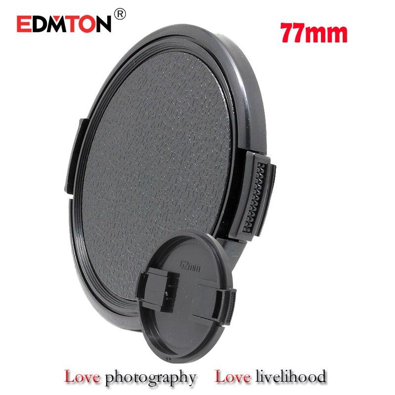 10gab / partija 77mm Snap-on objektīva vāciņš kamerai 77 mm Objektīva uzvalks kanonam EF 70-200mm f / 2.8L 24-105mm 17-40 nikon 24-70mm f / 2,8