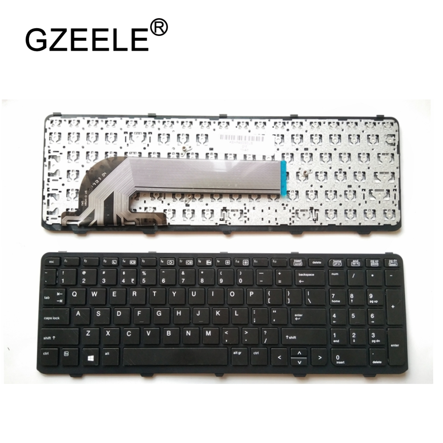 GZEELE new US Laptop keyboard for HP probook 450 GO 450 G1 470 455 G1 450-G1 450 G2 455 G2 470 G0 G1 G2 English Laptop keyboard 450 pnr