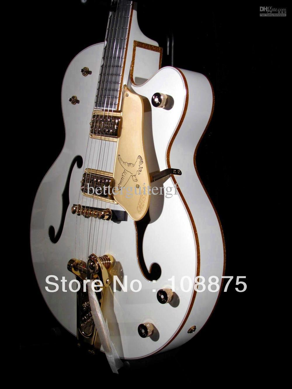 hot selling guitar 6 strings electric guitars best china guitar musical instruments white falcon. Black Bedroom Furniture Sets. Home Design Ideas