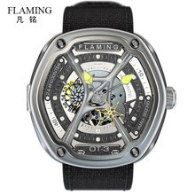 FLAMING Dietrich Series 1969 Organic Time OT-3 OT-2 OT-1  Watches Men Luxury Fashion Wristwatches with Miyota 82S7 Auto Movement