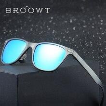 BROOWT Brand Polaroid Sunglasses Men's Women's UV400 Protection Polarized Driving Alloy Sun Glasses For Men Women BR3117