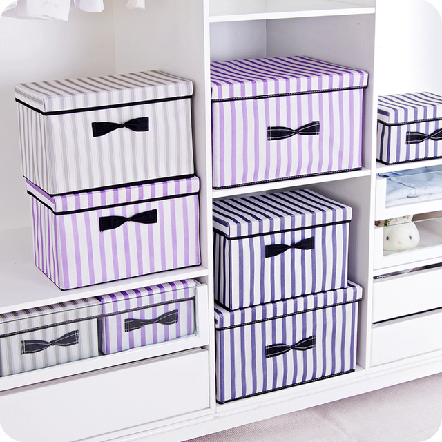 New 3 sizes folding clothes storage box clothes organizer kid toys storage bin Laundry Cupboard storage  sc 1 st  AliExpress.com & New 3 sizes folding clothes storage box clothes organizer kid toys ...