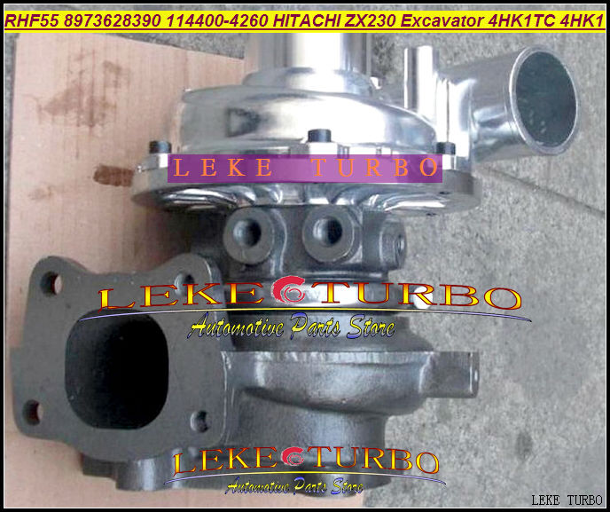 RHF55 8973628390 VB440031 Turbo Turbocharger For ISUZU ELF-NPR75 NQR75 ATLAS For Hitachi ZX240 ZAX240-3 ZAX230 Excavator 4HK1 turbo cartridge chra for hitachi zx230 zx240 3 zax250 excavator npr75 nqr75 4hk1tc 4hk1 rhf55 vb440031 8973628390 turbocharger