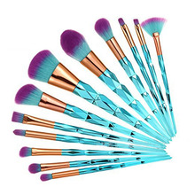 7pcs Unicorn Thread Makeup Brushes Professional Make Up Fiber Brush Set Tools Eyebrow Eyeliner Powder