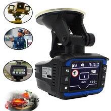 Mit Russischen Sprach laser radar 3 in 1 Auto DVR GPS 720 p HD Auto-kamera-recorder Laserdetektor GPS Positionierung Straße verkehrs