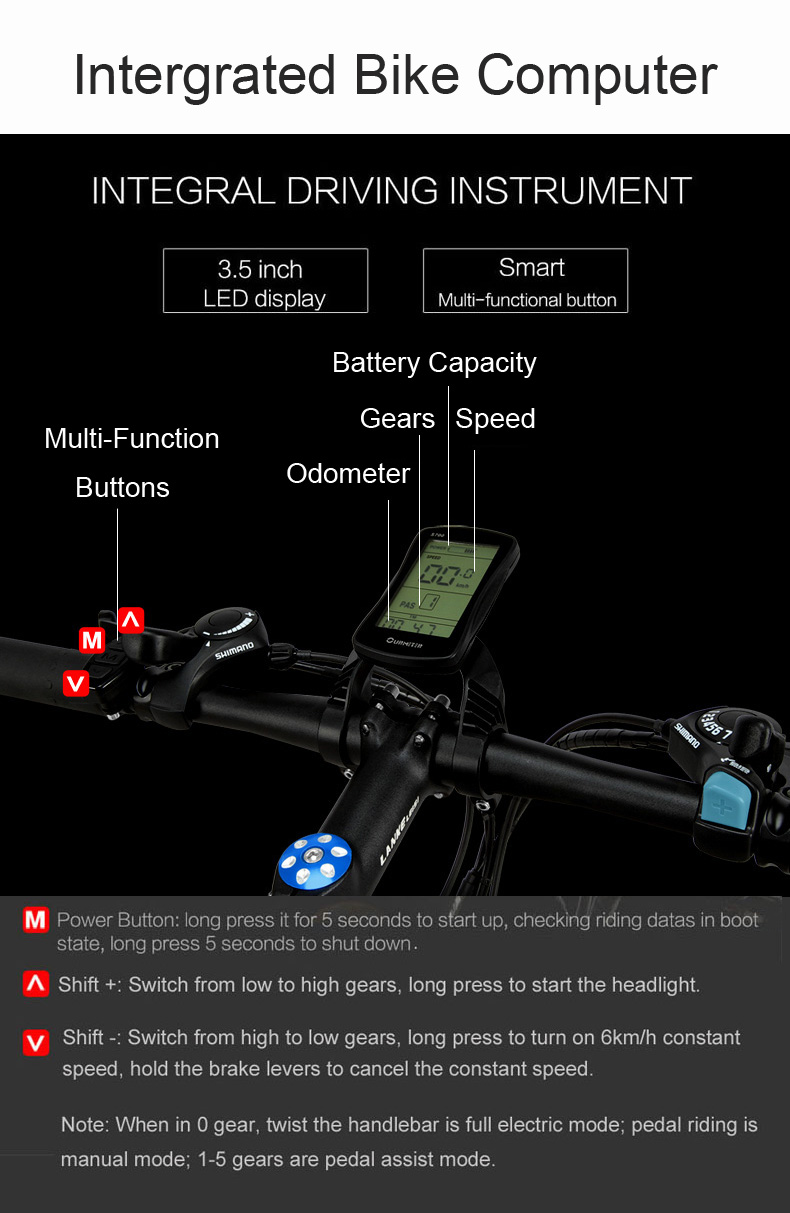 HTB1JR5Do0fJ8KJjy0Feq6xKEXXaR - MX3.eight Elite 26 Inch 5 Grade Help 48V 10Ah Sturdy Battery Electrical Mountain Bike,with 3.5 Inches Huge Bicycle Pc, 7 Velocity