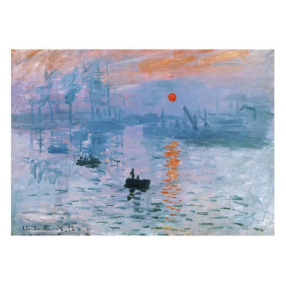 Claude Monet paintings on Canvas Impression Soleil Levant hand-painted wall art decor High qualityClaude Monet paintings on Canvas Impression Soleil Levant hand-painted wall art decor High quality