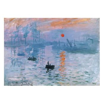 Claude Monet paintings on Canvas Impression Soleil Levant hand-painted wall art decor High quality