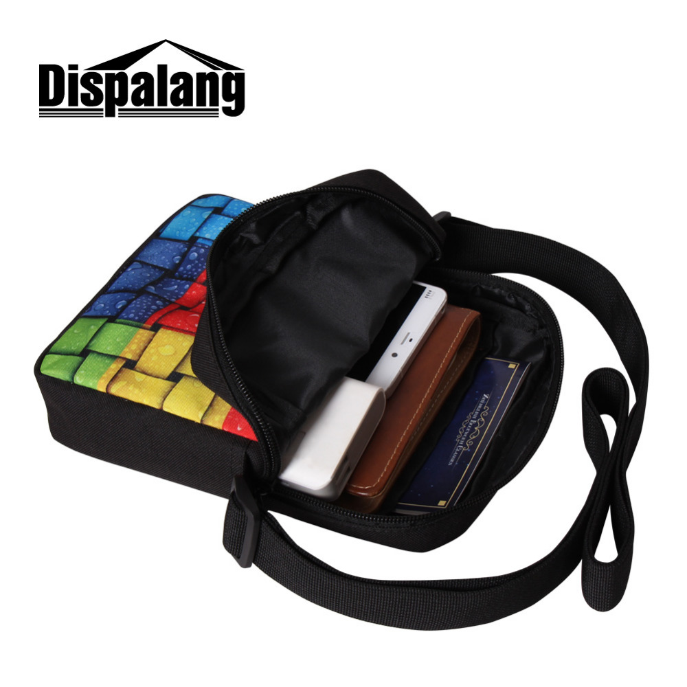 Fashion Brand Design Mens Small Messenger Bags Cool Bruce Lee Satchel Bag  Boys Cross Body Bag Men s Casual Travel Shoulder Bags-in Crossbody Bags  from ... fbf3c40d60267