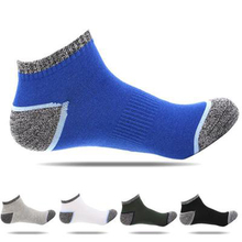 20 pcs=10pairs New Men Socks Cotton Boat Hiking cycling sports socks Short Tube High Quality for men meias size38-43