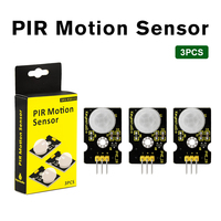 3PCS/lot  Keyestudio PIR Motion Sensor for Arduino UNO R3  IR Motion Sensor for Human Body Motion with Keyestudio Packing Box