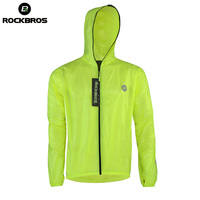 ROCKBROS Waterproof Jersey Raincoat Breathable MTB Hiking Outdoor Sport Jacket Anti Sweat Bicycle Men Cycling Windproof