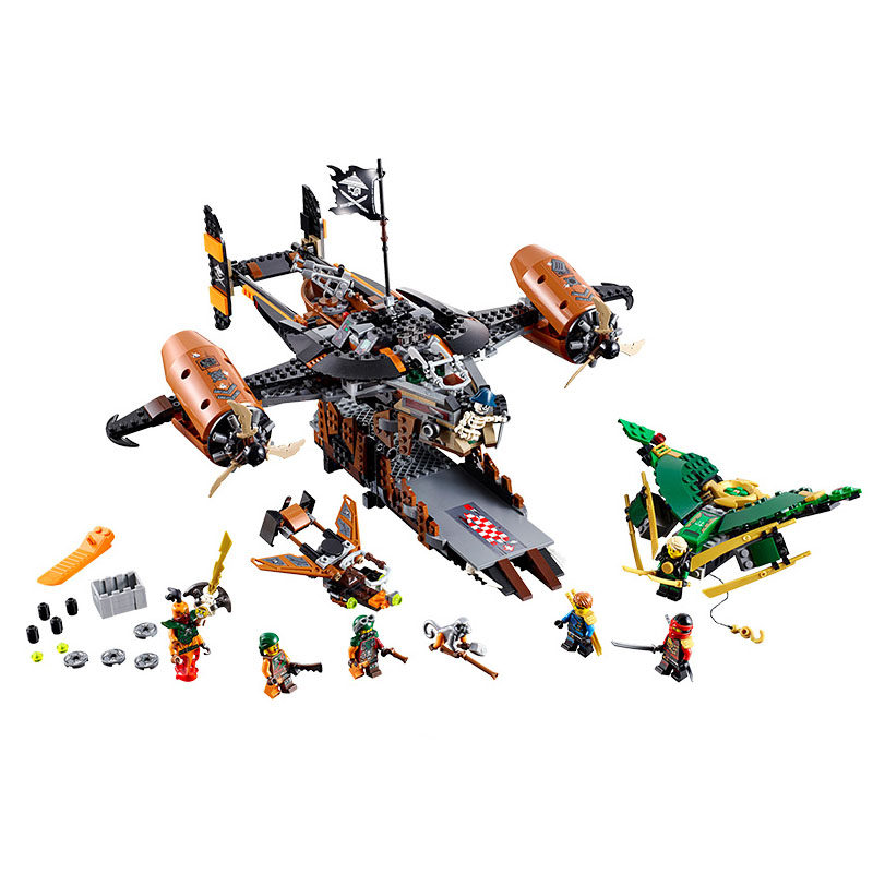 Pogo Lepin Ninja Spinjitzu Masters Figues Ninjagoe Thunder Swordsman Building Blocks Bricks Toys Compatible Legoe lepin 663pcs ninja killow vs samurai x mech oni chopper robots 06077 building blocks assemble toys bricks compatible with 70642