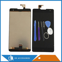100 High Quality For ZTE Z7 Max LCD Display Touch Screen Digitizer Assembly Black Color 1PC