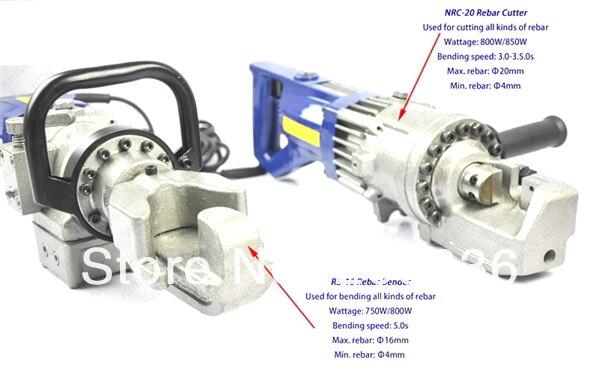 IGeelee переносной станок для гибки арматуры RB-16 станок для гибки арматуры диапазон 4-16 мм для строительства