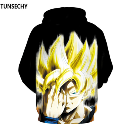 TUNSECHY Brand Dragon Ball 3D Hoodie Sweatshirts Men Women Hoodie Dragon Ball Z Anime Fashion Casual Tracksuits Boy Hooded 23