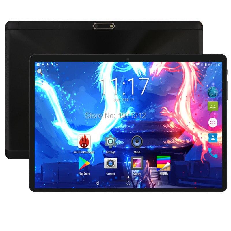Nouveau vendeur Android 8.0 10 pouces tablette Deca Core 4 GB RAM 128 GB ROM 4G FDD LTE 1280x800 IPS 8.0MP double carte SIM tablettes 10.1 Lapto