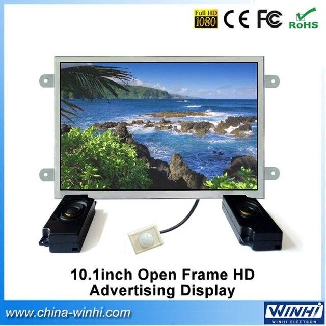 10inch Open Frame Supermarket HD IR Motion Sensor digital signage ...