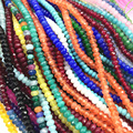 2*4mm faceted abacus 14 style natural stone jades opal rondelle loose beads for jewelry findings loose beads 15inch B559