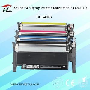 Image 1 - Compatible toner cartridge for samsung 406s M406s CLT k406S K406S C406S clt y406s CLP 360 365w 366W CLX 3305 C460FW 3306FN 3305W