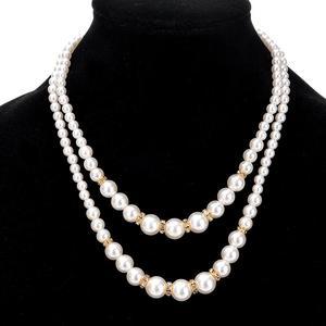 Fashion Women Faux Pearl Beads