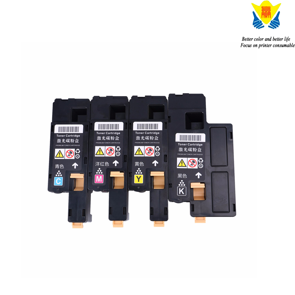 Jianyingchen Coloration Suitable Toner Cartirdge Xe 6000 6010 Substitute For Xerox Phaser 6000 6010 Workcentre 6015 (4Pcs/lot)