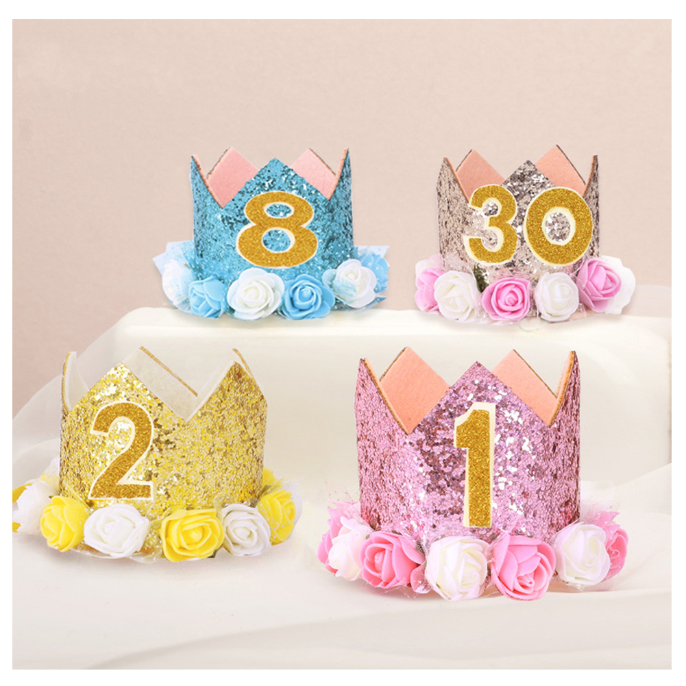 E Doo Baby Girl Boy Crown Birthday Cap Festival Party Hat Shiny Letter Gold Crown Rose Flowers Tiara Headbands Party Hats Aliexpress For our lovely dayrunners, the editor's pick albums get the most heated pieces ready for you. aliexpress