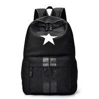 New Casual Women Men Laptop Backpack Waterproof Nylon Women S Youth Printing Schoolbag Bagpack Portfolio School