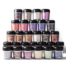 PUDAIER New Glitter Metallic Powder Eyeshadow Single Color Pigments Easy to Wear Waterproof Shimmer Eye Shadow Make Up
