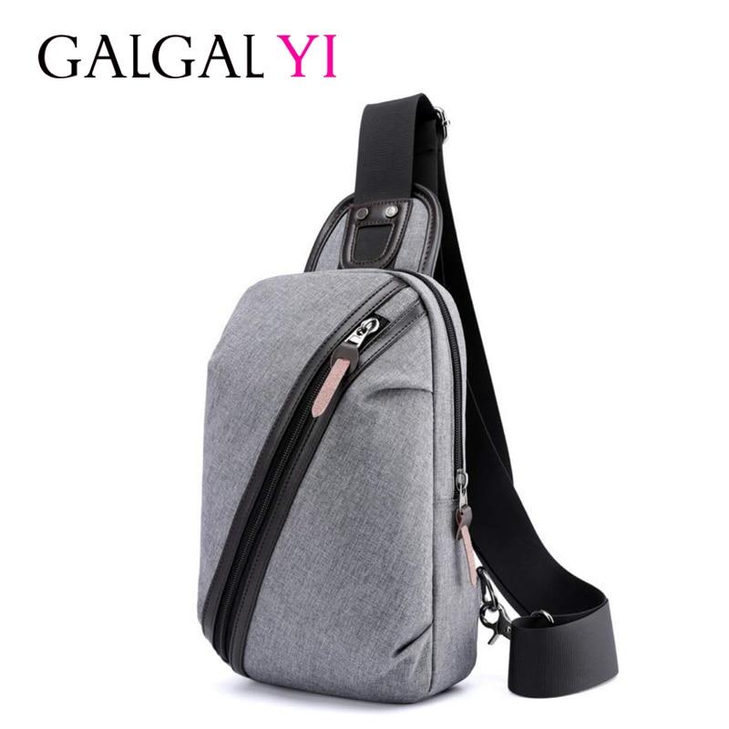 GALGALYI New Oxford Men Chest Pack Single Shoulder Strap Back Bag Crossbody Bags for Women Sling Shoulder Bag Back Pack Travel