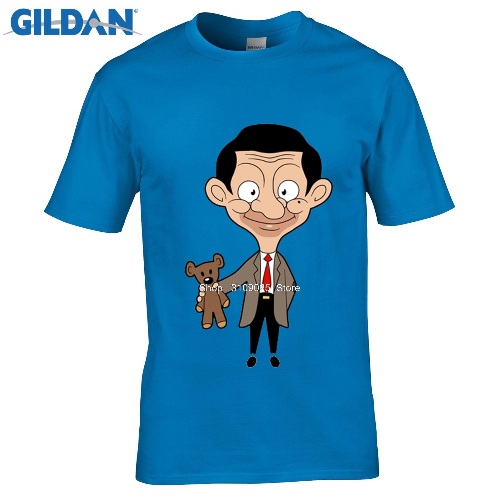 Возьмите Взрослого улыбка Mr. bean последние футболки летом прохладно Дизайн человек хлопок футболка мужской короткий рукав большой Размеры ф...